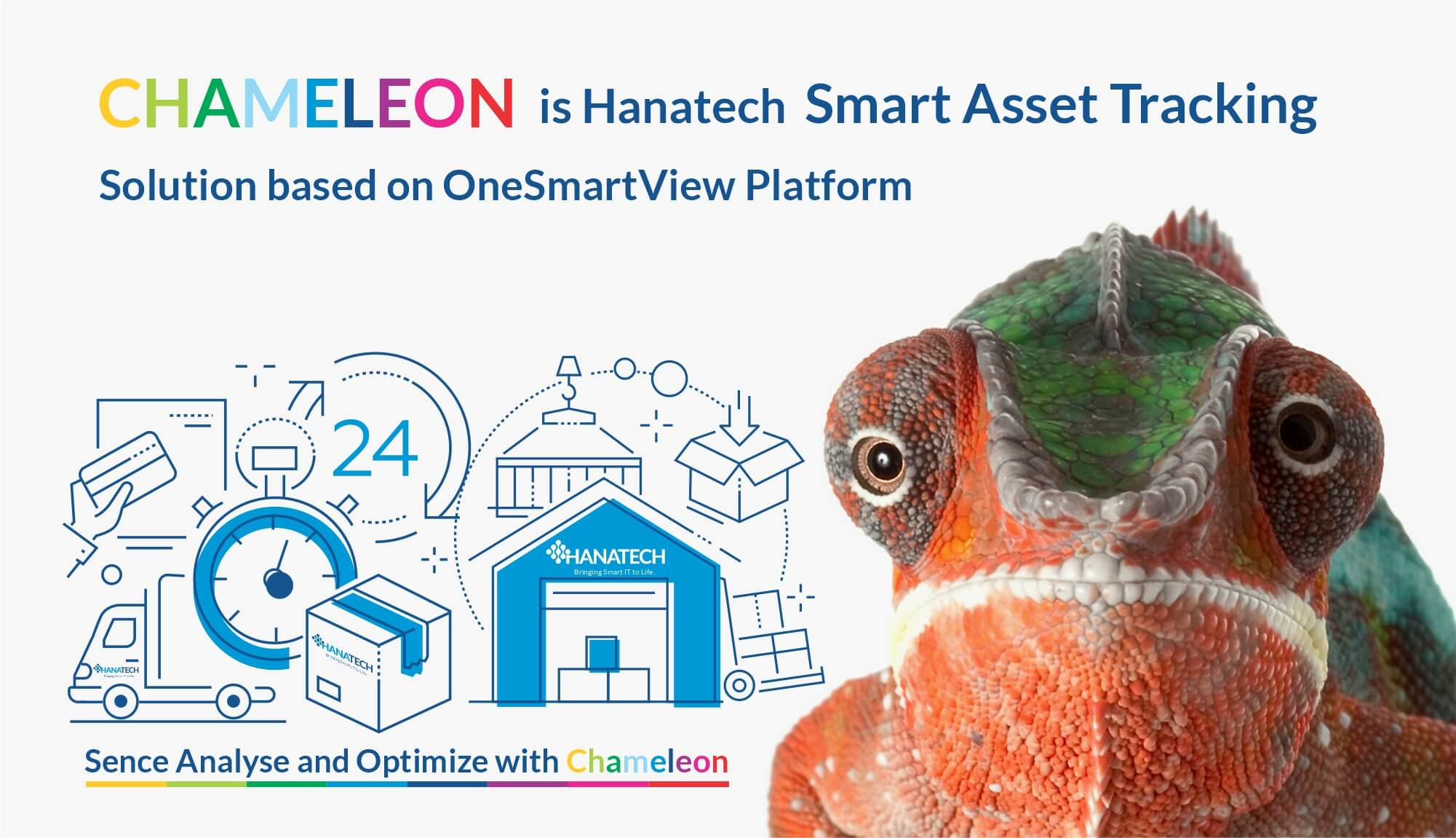 Chameleon is Hanatech SmartAsset Tracking Solution